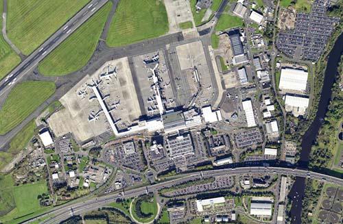 Glasgow aerial