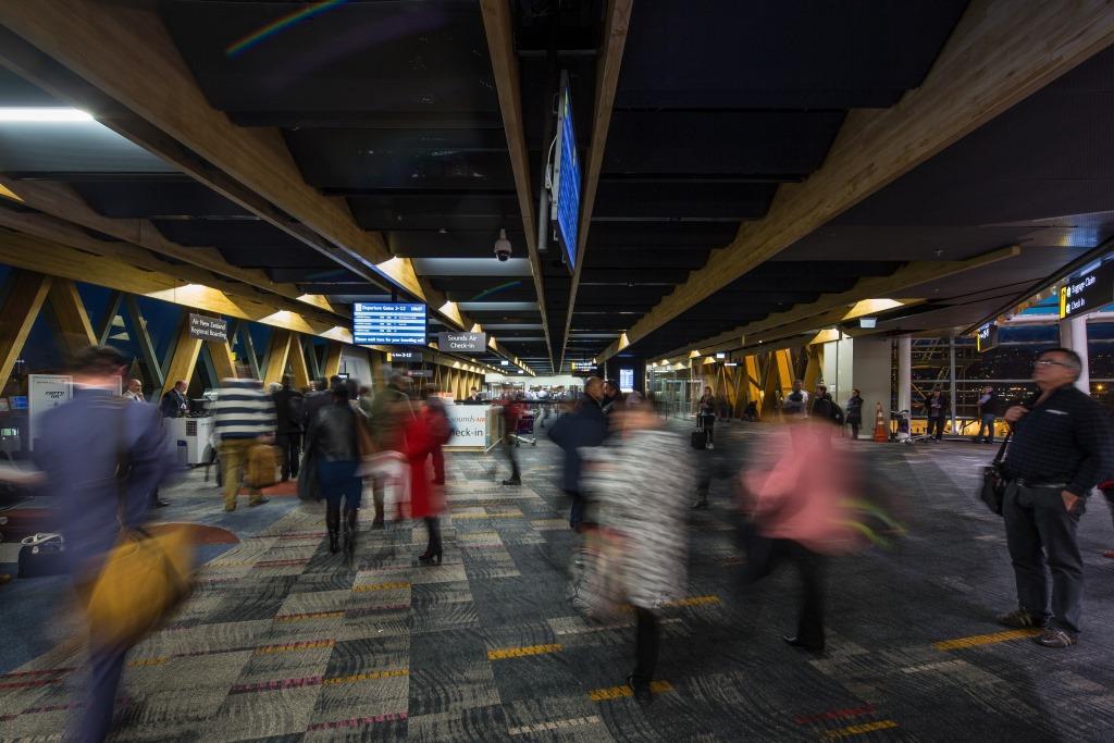 Wellington Airport terminal