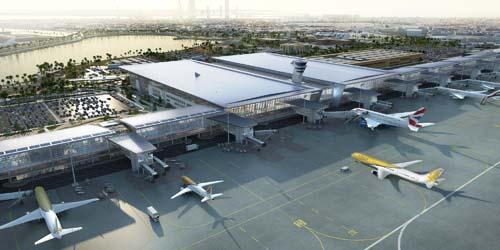 Bahrian new terminal