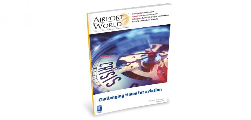 airport world magazine cover